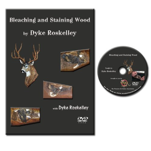 How to Bleach Wood DVD - Bring Life to Your Wood Carvings with This Bleaching and Staining Tutorial