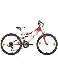 KS Cycling Jungen Kinderfahrrad Mountainbike Fully Zodiac Fahrrad