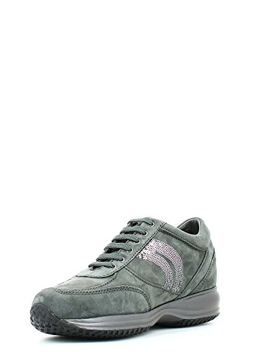 GEOX donna sneakers basse D HAPPY A D5462A 00021 C1006 Grigio
