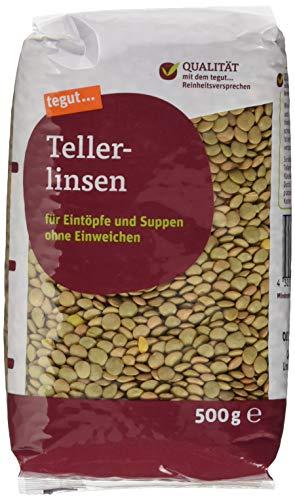 tegut... Tellerlinsen, 500 g