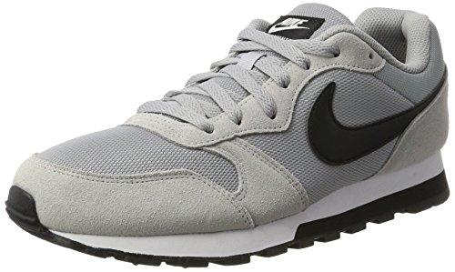 605015f6d5 Nike Nike Md Runner 2 Zapatillas de running Hombre, Gris/Negro/Blanco (Wolf  Grey/Black-White), 44.5 EU