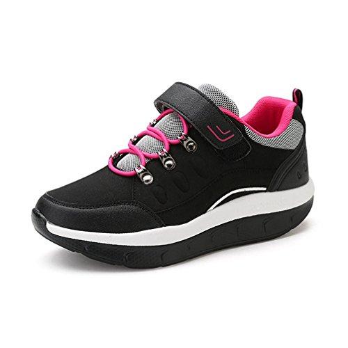 JITIAN Chaussures de Marche de Femmes de Chaussure de Sport de Confort Légers