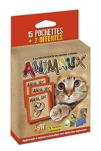 Panini France SA SA- Animales Blister 15 Fundas + 2 Ofertas, 2519-020