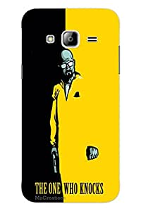 MiiCreations 3D Printed Back Cover for Samsung Galaxy J3,The One Who Knocks