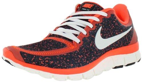Nike - Running - wmns free 5.0 v4 Crimson Black Sail