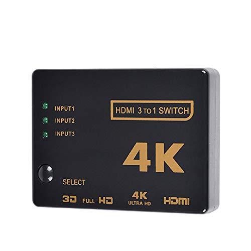 LFYPSM HDMI Switcher (DREI In Einem) Schalter Fernbedienung Konvertierung Ultra Clear 4K 3D Visuelle Effekte HDMI SwitchHDMI Video Switching HDMI Fernbedienung Schalter -