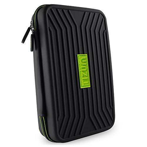 Tizum TMGOB Portable EVA Universal Electronic Travel Gadgets and Accessories Organizer (Black)