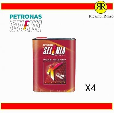 OLIO MOTORE SELENIA K PURE ENERGY SAE 5W-40 ACEA C3 C MULTIAIR 4 LITRI