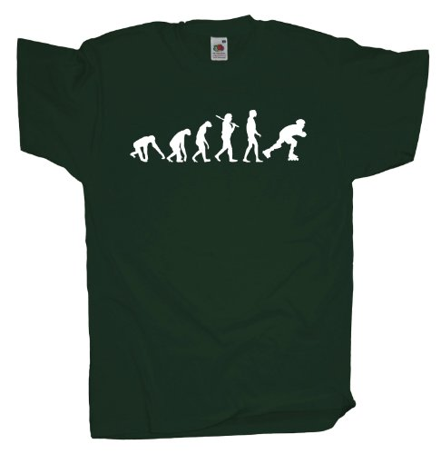 Ma2ca - Evolution - Rollerskates T-Shirt Bottle Green