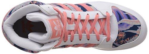 Adidas - Adidas Pro Play 2 K Scarpe Sportive Fantasia S77448 Bianco