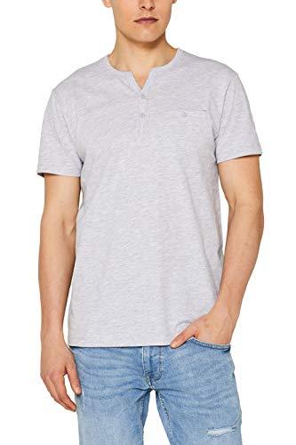 Xx-large T-shirt (edc by ESPRIT Herren 059Cc2K024 T-Shirt, Grau (Light Grey 040), Herstellergröße: XX-Large)