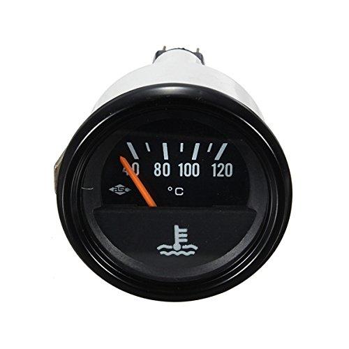 Preisvergleich Produktbild Viviance Auto Fahrzeug Van Wassertemperatur Temp-Spur Gelb-Grünes Licht 52Mm 12V