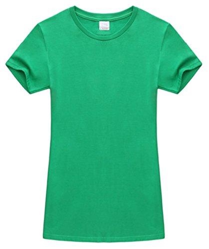 Smile YKK Kind Mädchen Junge Kurzarm Sommer TShirt Oberteil Basis Tops  Kurzarmshirt Poloshirt Grün