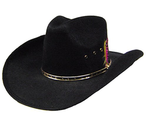 modestone-akubra-faux-felt-feather-hatband-chapeaux-cowboy-m-sizes-for-small-heads