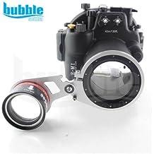 Bajo el agua M67wet-lens adaptador para pantalla plana para Meikon carcasa submarina 70d, 7100,7000d