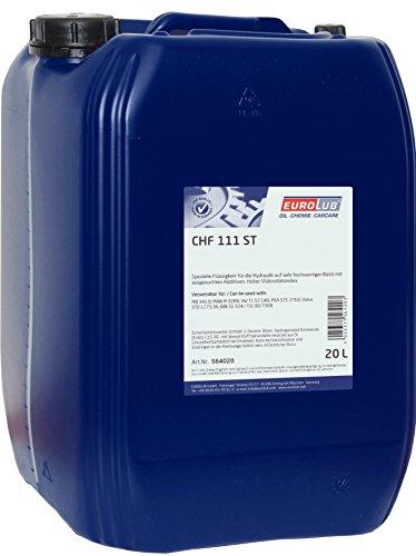 eurolub-564020-zentrakhydraulikflussigkeit-chf-111-st-grun-20-liter
