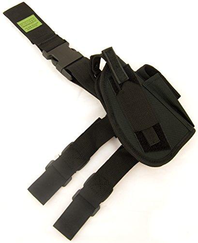 Oxbridge - Beinholster für Pistolen & taktische Waffen - schwarz (Pistolenbeinholster)