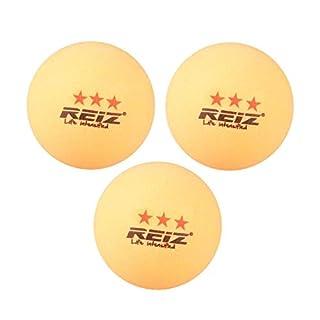 Lovelysunshiny Reiz RZ1813 Gute Schlag 3PCS / Set 40MM 3-Sterne-Tischtennisbälle für Match