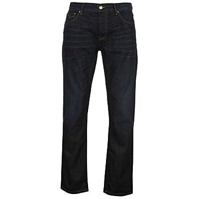 Firetrap Mens Dark Blast Jeans Straight Denim Trousers Casual Pants Bottoms