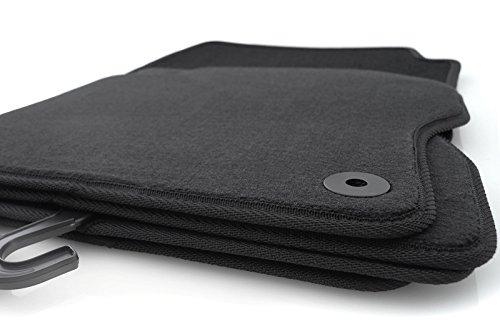 Preisvergleich Produktbild kh Teile Fußmatten / Velours Automatten Original Qualität Stoffmatten 4-teilig schwarz