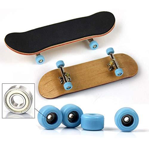 Balai Mini Finger Skateboard pour Tech Deck Stands d'alliage Classic Boys Toys Bois Fingerboard 100mm x 28mm x 15mm