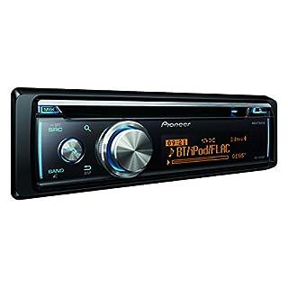 Pioneer DEH-X8700BT | 1DIN Autoradio | CD-Tuner mit RDS | CD | Bluetooth | MP3 | USB – AUX-Eingang | Bluetooth Freisprecheinrichtung | Direktsteuerung iPod/iPhone | Kompatibel mit Android