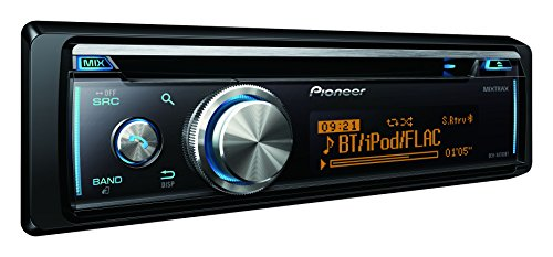 Pioneer DEH-X8700BT | 1DIN Autoradio | CD-Tuner mit RDS | CD | Bluetooth | MP3 | USB – AUX-Eingang | Bluetooth Freisprecheinrichtung | Direktsteuerung iPod/iPhone | Kompatibel mit Android