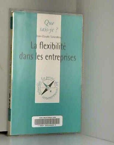 La flexibilité dans les entreprises