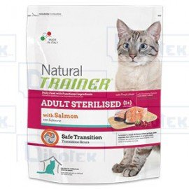 Trainer Natural Cat Adult Sterilised Salmone 12,5KG