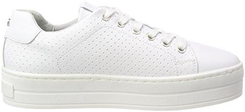 ... BULLBOXER Damen 987000e5l Sneaker Weiß (White)