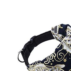 Momorain Colliers de Chien Motif Animaux Sling Pet Bandage Triangulaire écharpe pour Animaux de Compagnie Chien Foulard Impression Foulard