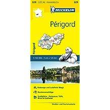 Michelin Perigord: Straßen- und Tourismuskarte 1:150.000 (MICHELIN Localkarten)