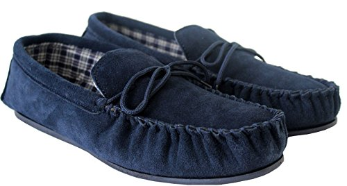 Sleepers  Slippers, Chaussons homme NAVY---------------245