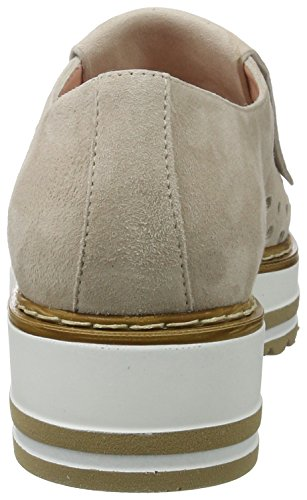 Marc Cain GB SC.10 L47, Mocassini Donna Beige (Rose Taupe)