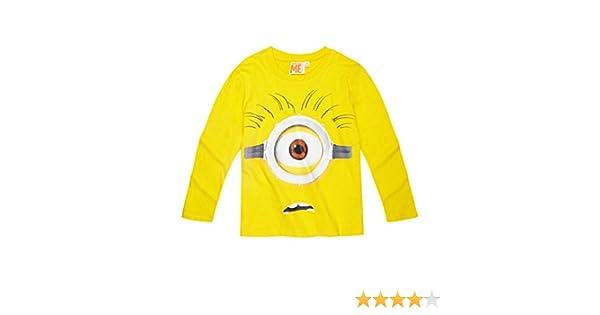 bbe1f8ca2f2db Minions Despicable Me Garçon Tee-shirt manches longues 2016 Collection -  jaune  Amazon.fr  Vêtements et accessoires