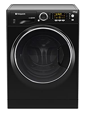 Hotpoint Ultima S-Line RD 966 JKD Washer Dryer - Black by HOTPOINT