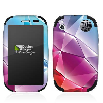 DeinDesign HP Palm Pre Plus Case Skin Sticker aus Vinyl-Folie Aufkleber Kristall Regenbogen Muster Palm Pre Crystal Case