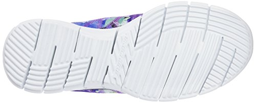 Skechers - Glider - Posies, Scarpe sportive Donna NVMT