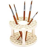 Vosarea Multifuncional Porte-pinceau Porte-stylo sede de bolígrafo de múltiples Agujeros DIY Round para la Escuela de electrodoméstico