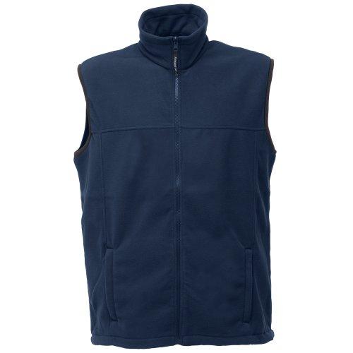 Regatta Haber II Herren Bodywarmer Fleece-Weste, ärmellos (Medium) (Marineblau)