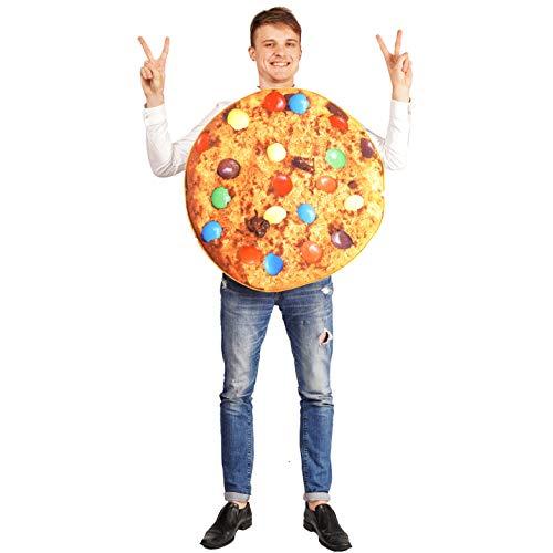 SEA HARE Erwachsenen Unisex Candy Bean Cookie Emoticon Kostüm(One Size)