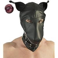 Black Level Lederimitat Dog Mask