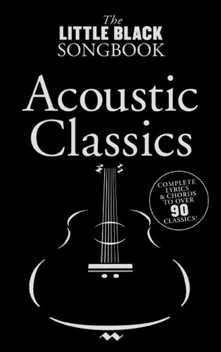 The Little Black Songbook: Acoustic (Sala Piano Music)
