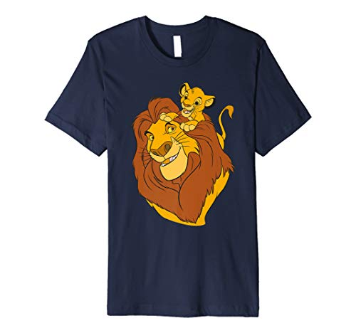 Disney The Lion King Simba and Mufasa Father and Son T-Shirt