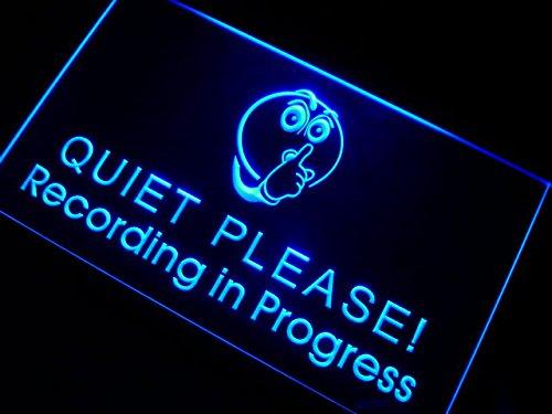 adv-pro-m096-b-recording-in-progress-quiet-please-neon-sign