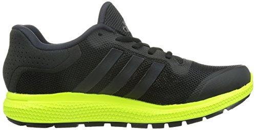 adidas Herren Energy Bounce Laufschuhe Schwarz (Core Black/Core Black/Solar Yellow)