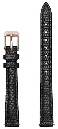 Cluse Damen Uhrenarmband Leder La Vedette Schwarz CLS524