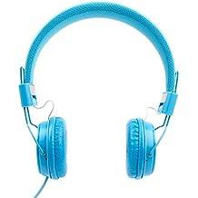 DURAGADGET Auriculares De Diadema Color Azul Para Teclado Yamaha PSR-F50 / PSR-E253 / Casio SA-78H5 SA-78 / SA-46H5 SA-46 / SA-77 - Alta Calidad - ¡Perfectos Para Combinar Con Su Móvil!