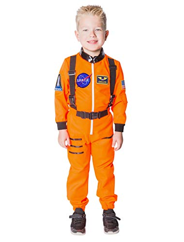 Orange Kostüm Kinder Astronaut - Deiters Overall Astronaut Kinder orange
