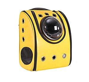 Dixon.Y Sac à dos Pet / Space Cabin Sac à bandoulière double / Chien et chien Voyage Sac à dos portatif / Pet Nest / Cortex Material , c